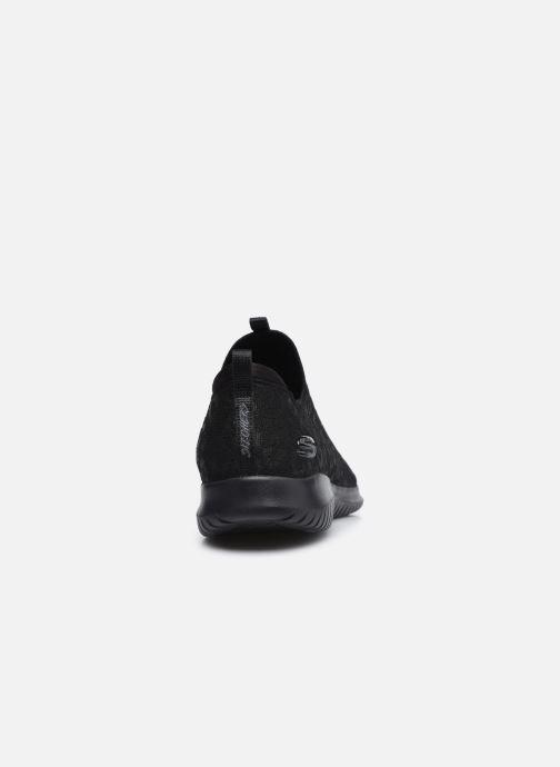 Chaussures de sport Skechers ULTRA FLEX WILD JOURNEY W Noir vue droite