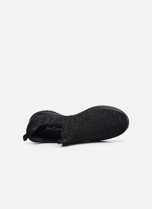 Chaussures de sport Skechers ULTRA FLEX WILD JOURNEY W Noir vue gauche