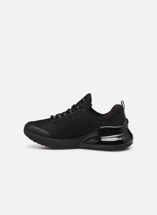 Sneakers Skechers SKECH-AIR STRATUS SPARKLING WIND W Nero immagine frontale