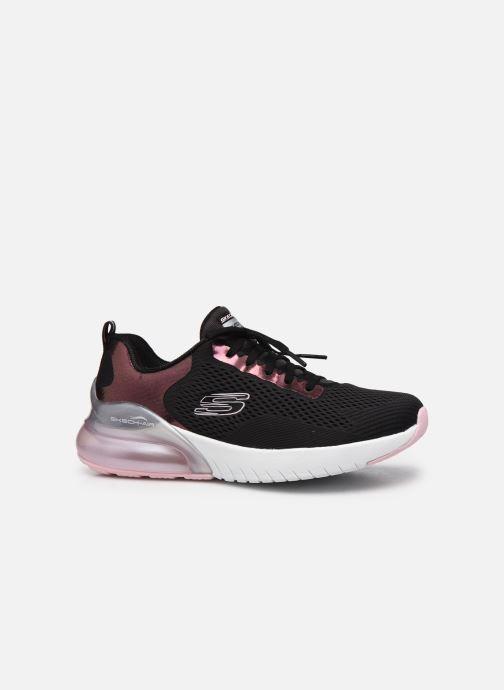 Sneaker Skechers SKECH-AIR STRATUS GLAMOUR TOUR W schwarz ansicht von hinten