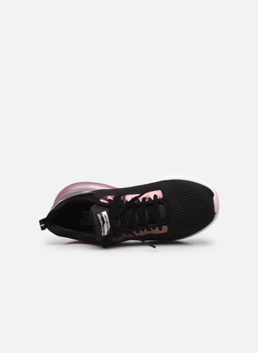 Sneakers Skechers SKECH-AIR STRATUS GLAMOUR TOUR W Nero immagine sinistra