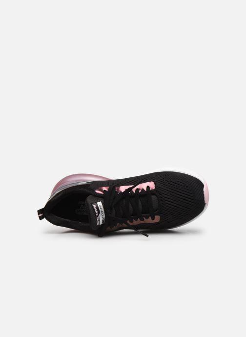 Sneaker Skechers SKECH-AIR STRATUS GLAMOUR TOUR W schwarz ansicht von links
