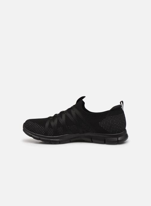 Chaussures de sport Skechers GRATIS W Noir vue face