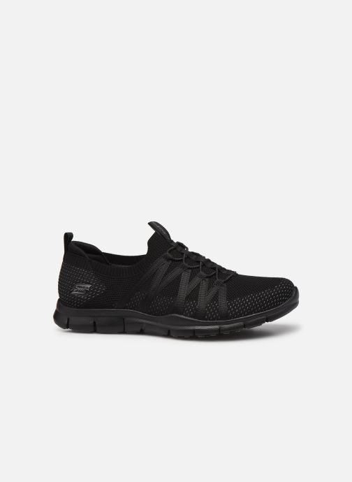 Chaussures de sport Skechers GRATIS W Noir vue derrière