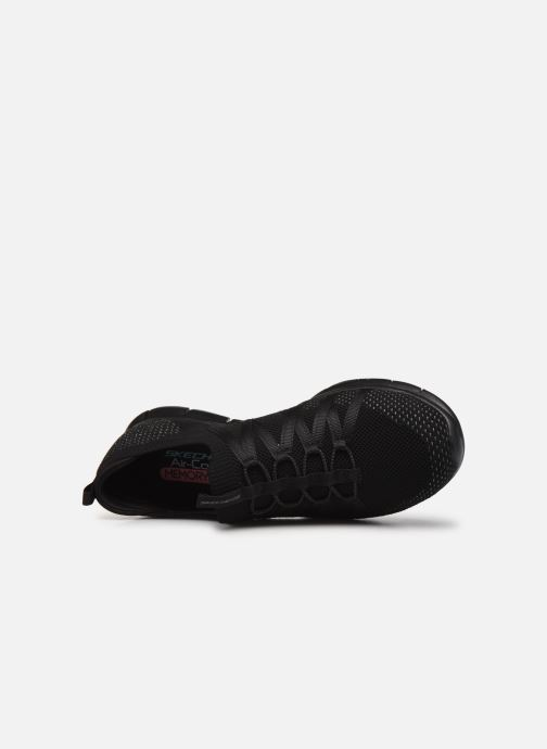 Chaussures de sport Skechers GRATIS W Noir vue gauche