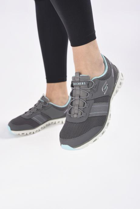 Zapatillas de deporte Skechers GLIDE STEP JUST BE YOU W Gris vista de abajo