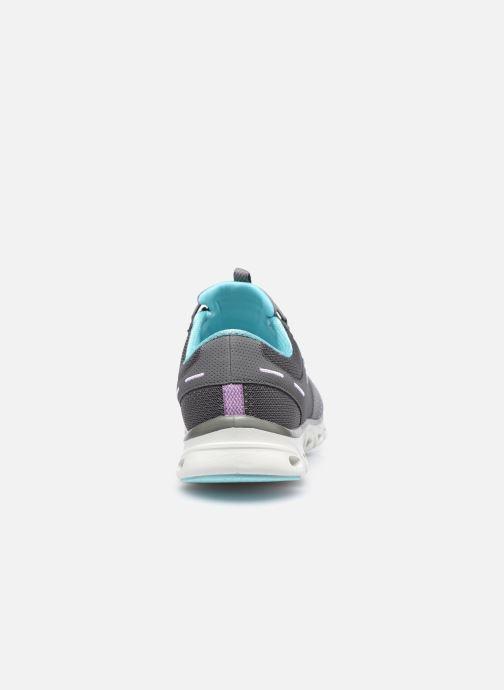 Zapatillas de deporte Skechers GLIDE STEP JUST BE YOU W Gris vista lateral derecha