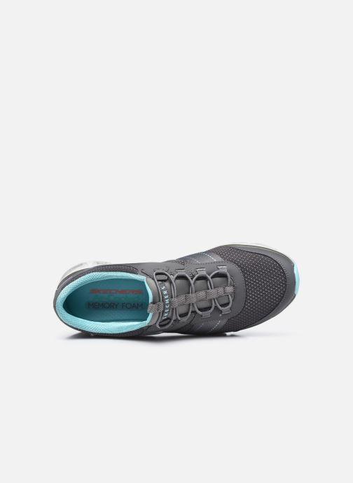 Zapatillas de deporte Skechers GLIDE STEP JUST BE YOU W Gris vista lateral izquierda