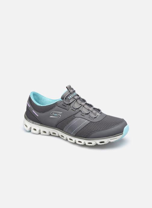 Zapatillas de deporte Skechers GLIDE STEP JUST BE YOU W Gris vista de detalle / par