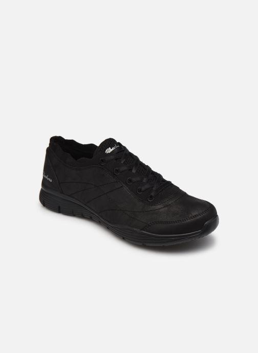 Baskets Skechers SEAGER W Noir vue détail/paire