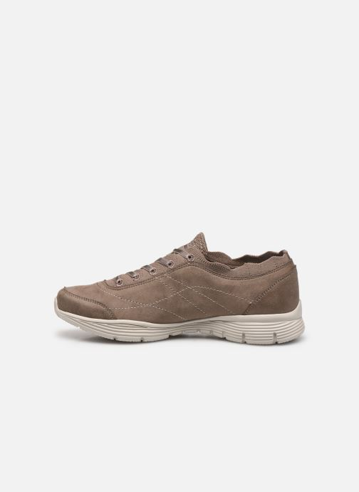 Baskets Skechers SEAGER W Beige vue face