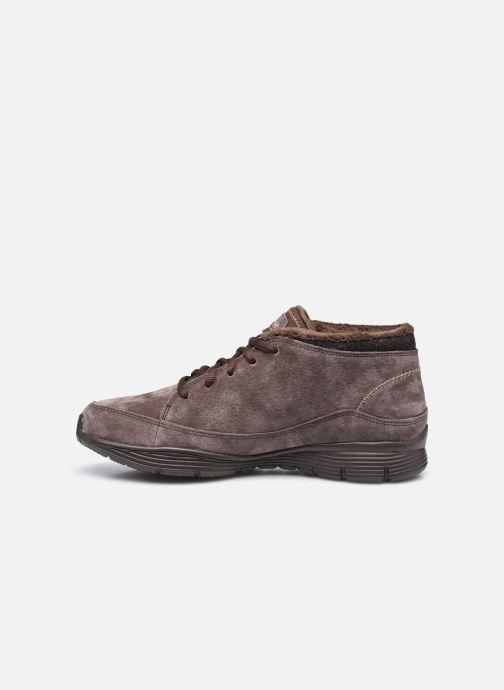 Sneaker Skechers SEAGER W braun ansicht von vorne