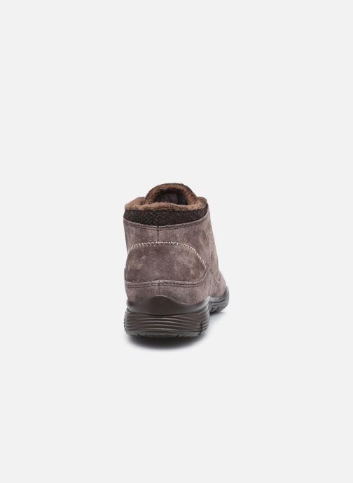 Sneaker Skechers SEAGER W braun ansicht von rechts