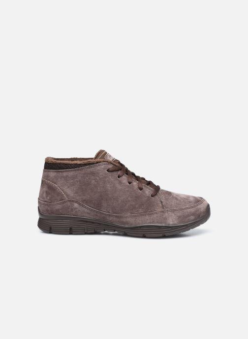 Sneaker Skechers SEAGER W braun ansicht von hinten