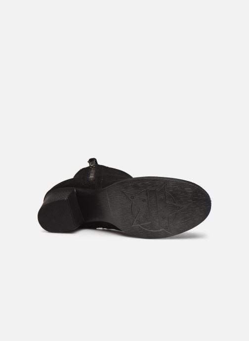 Botines  Skechers TAXI DON'T TRIP W Negro vista de arriba