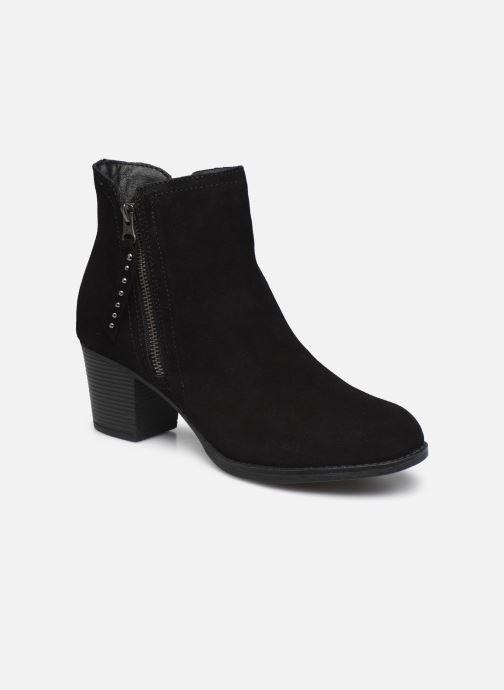 Boots en enkellaarsjes Skechers TAXI DON'T TRIP W Zwart detail