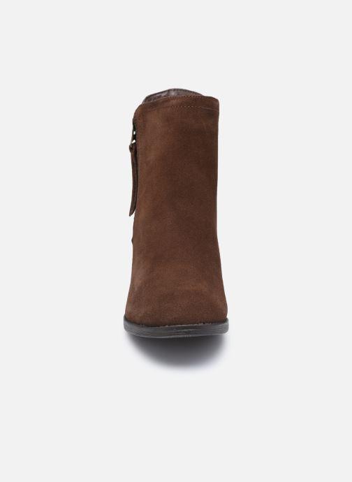 Bottines et boots Skechers TAXI DON'T TRIP W Marron vue portées chaussures