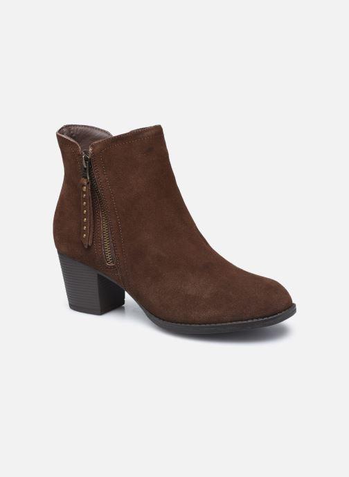 Bottines et boots Skechers TAXI DON'T TRIP W Marron vue détail/paire