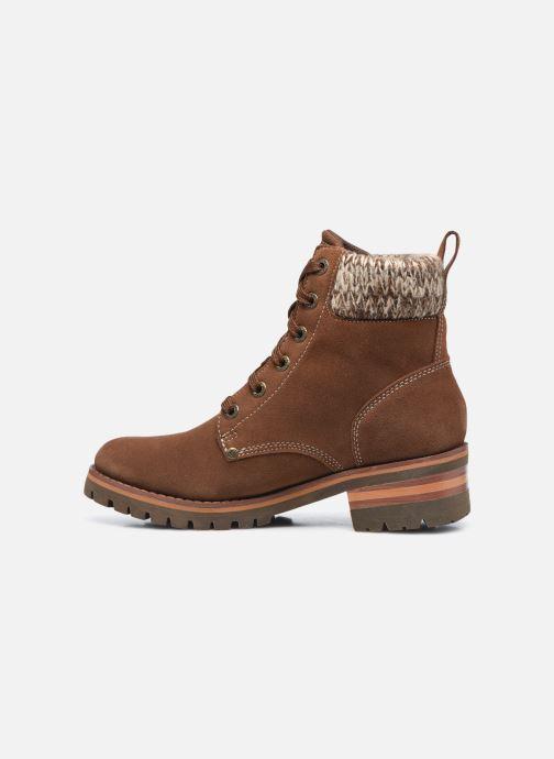 Bottines et boots Skechers LARAMIE 2 DOWNTOWN GAL W Marron vue face
