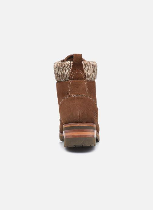 Bottines et boots Skechers LARAMIE 2 DOWNTOWN GAL W Marron vue droite