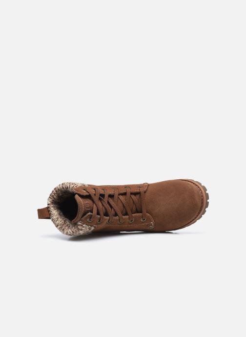 Bottines et boots Skechers LARAMIE 2 DOWNTOWN GAL W Marron vue gauche