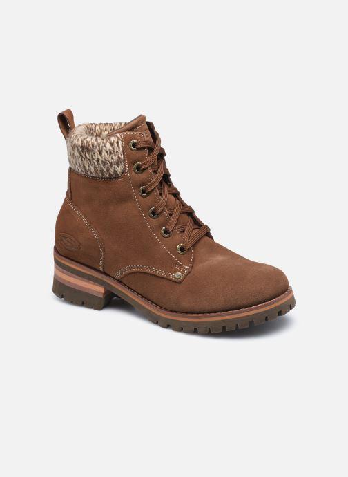 Bottines et boots Skechers LARAMIE 2 DOWNTOWN GAL W Marron vue détail/paire