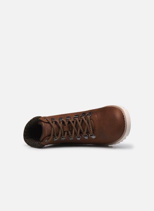 Stiefeletten & Boots Skechers MOUNTAIN KISS W braun ansicht von links