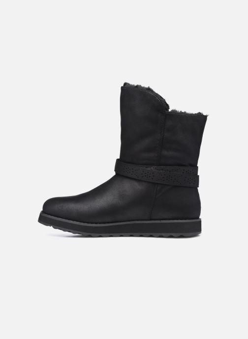 Boots en enkellaarsjes Skechers KEEPSAKES 2.0 W Zwart voorkant