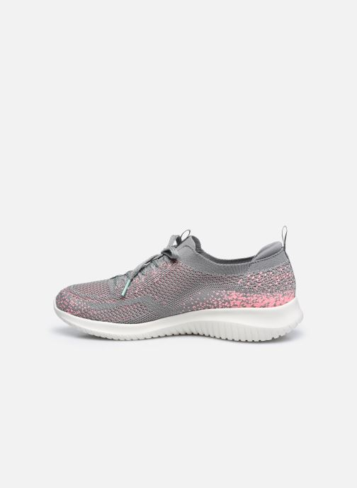 Chaussures de sport Skechers ULTRA FLEX W Gris vue face