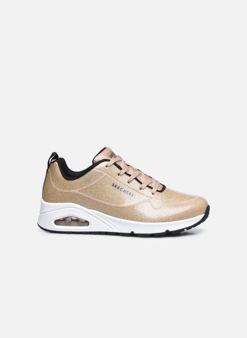 Sneaker Skechers UNO-DIAMOND SHATTER gold/bronze ansicht von hinten