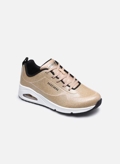 Sneaker Skechers UNO-DIAMOND SHATTER gold/bronze detaillierte ansicht/modell