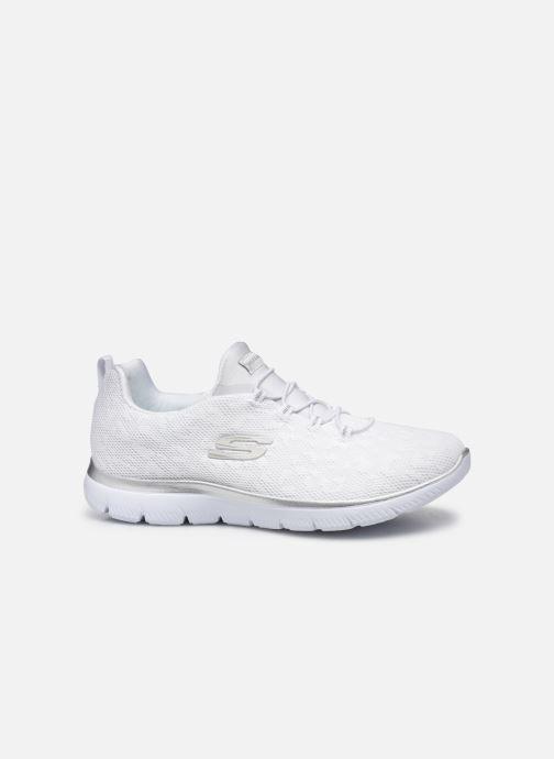 Chaussures de sport Skechers SUMMITS - LEOPARD SPOT Blanc vue derrière