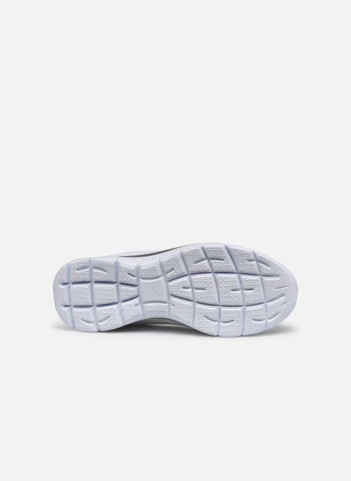 Zapatillas de deporte Skechers SUMMITS - LEOPARD SPOT Blanco vista de arriba
