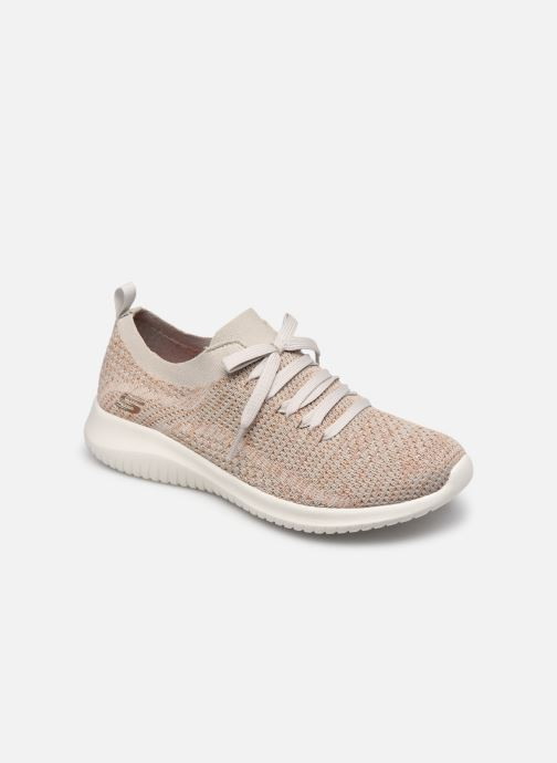 Chaussures de sport Skechers ULTRA FLEX-SALUTATIONS Beige vue détail/paire