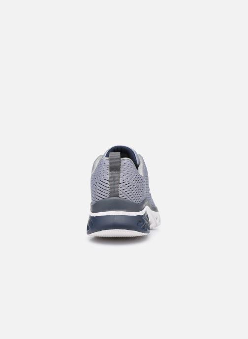 Chaussures de sport Skechers Glide Step Sport Bleu vue droite