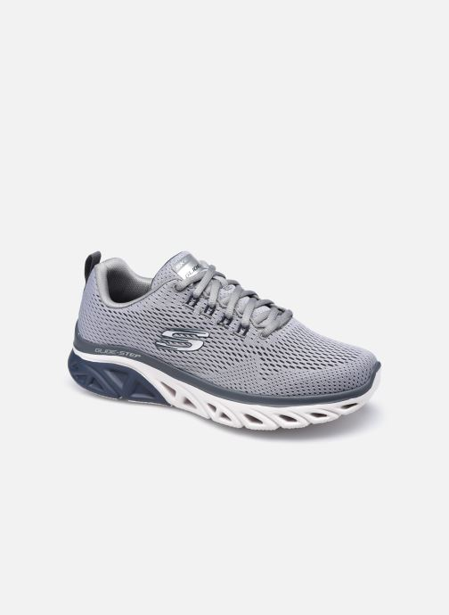 Chaussures de sport Skechers Glide Step Sport Bleu vue détail/paire