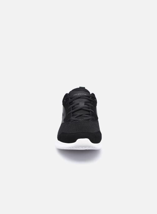 Baskets Skechers Bounder Caught Up Noir vue portées chaussures