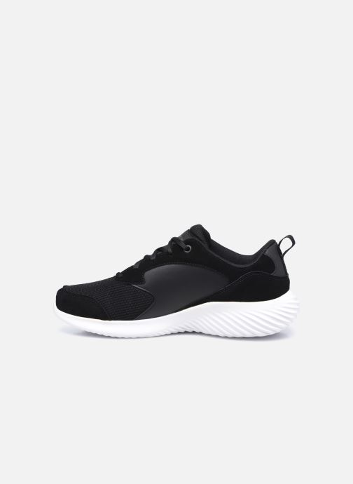 Deportivas Skechers Bounder Caught Up Negro vista de frente