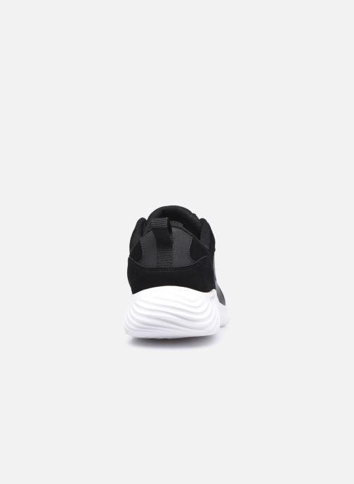 Baskets Skechers Bounder Caught Up Noir vue droite