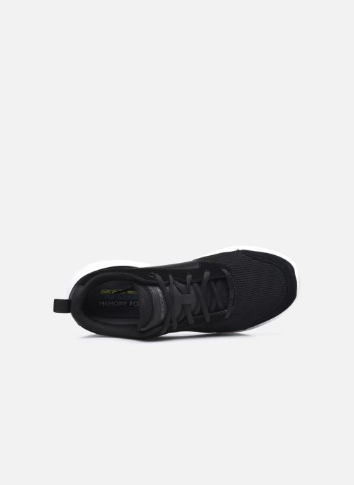 Deportivas Skechers Bounder Caught Up Negro vista lateral izquierda