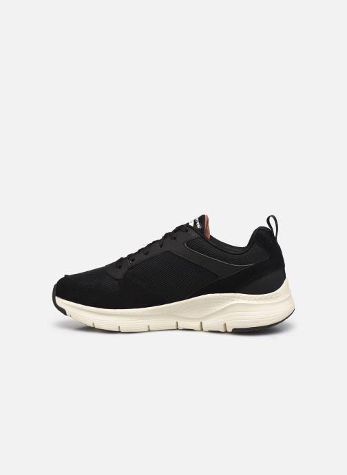 Sneaker Skechers Arch Fit schwarz ansicht von vorne