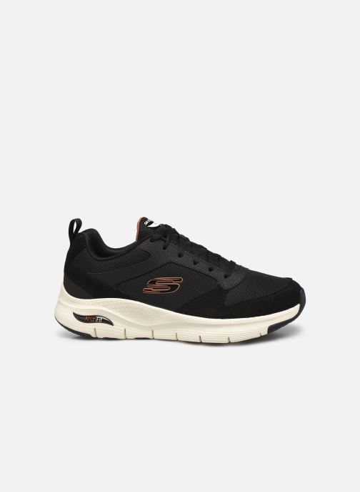 Sneaker Skechers Arch Fit schwarz ansicht von hinten