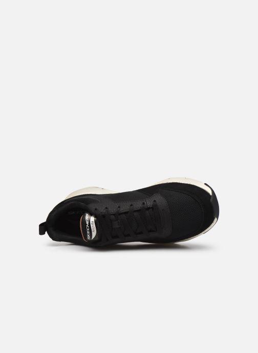 Sneaker Skechers Arch Fit schwarz ansicht von links