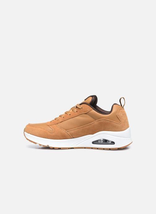 Sneaker Skechers Uno Stacre gelb ansicht von vorne