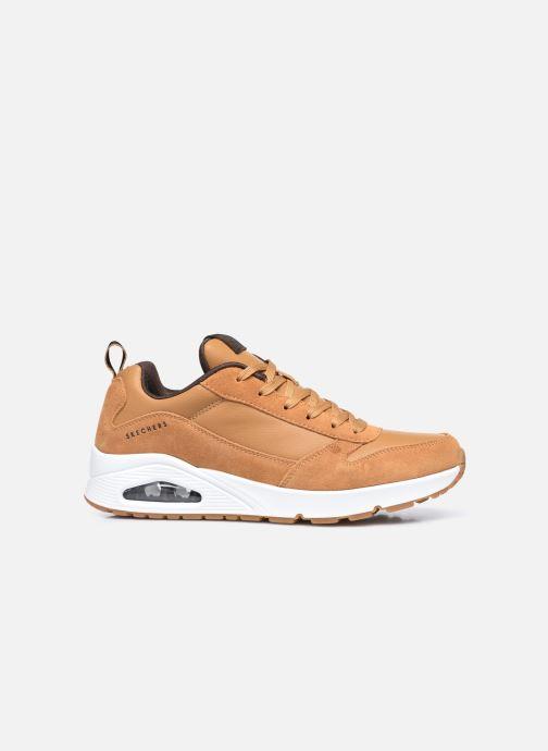 Sneaker Skechers Uno Stacre gelb ansicht von hinten