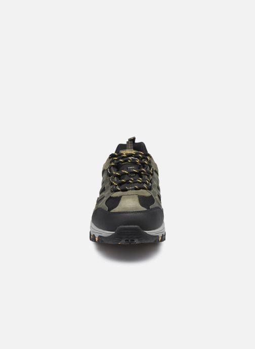 Sportschuhe Skechers Selmen Enago schwarz schuhe getragen