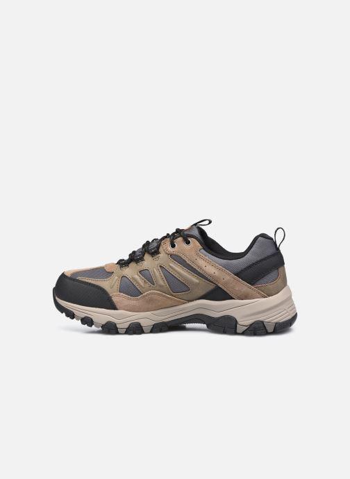 Chaussures de sport Skechers Selmen Enago Marron vue face