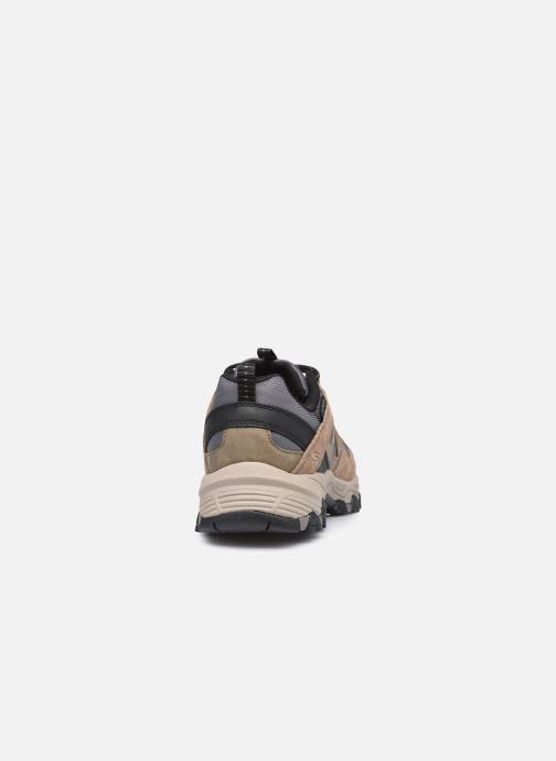Chaussures de sport Skechers Selmen Enago Marron vue droite