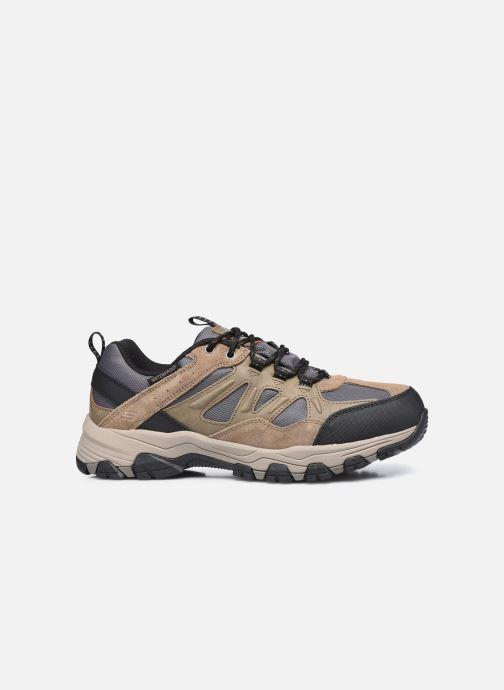 Chaussures de sport Skechers Selmen Enago Marron vue derrière
