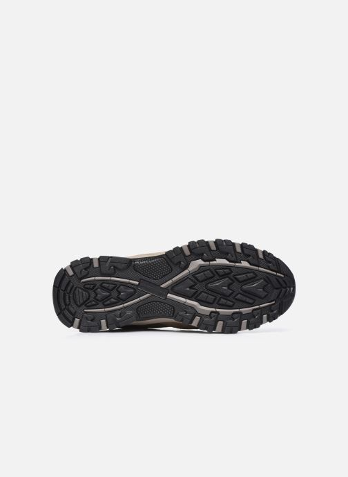 Chaussures de sport Skechers Selmen Enago Marron vue haut
